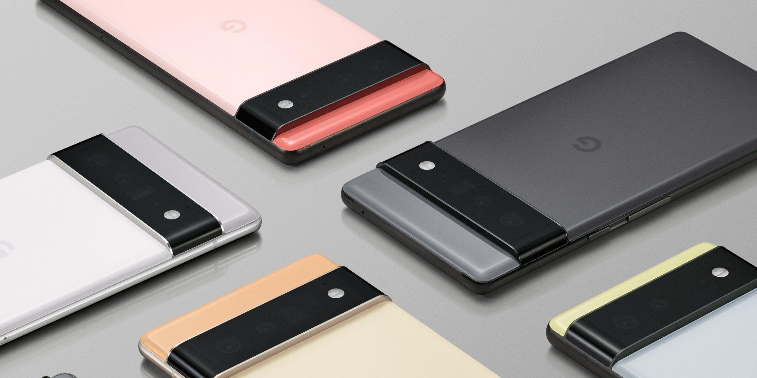 Google Pixel 6 & Pixel 6 Pro Launch Date