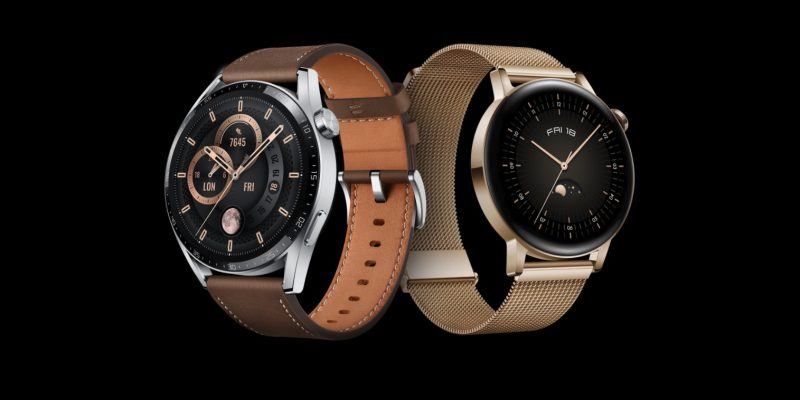 Huawei Unveiled Watch GT 3 and FreeBuds Lipstick